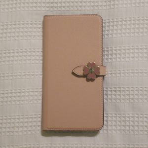 NIB Kate Spade Wrap Folio Wallet Phone Case